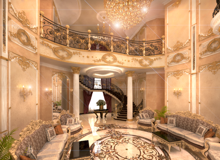 Elegant interior design llc dubai u a e interior design for Interior decoration companies in dubai